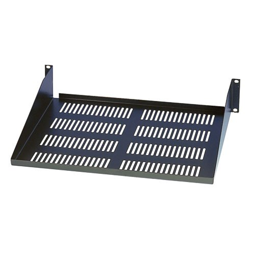 Tripp Lite SRSHELF2P Rack Enclosure Mount Cabinet Cantilever Fixed Shelf 60lb Capacity 2URM