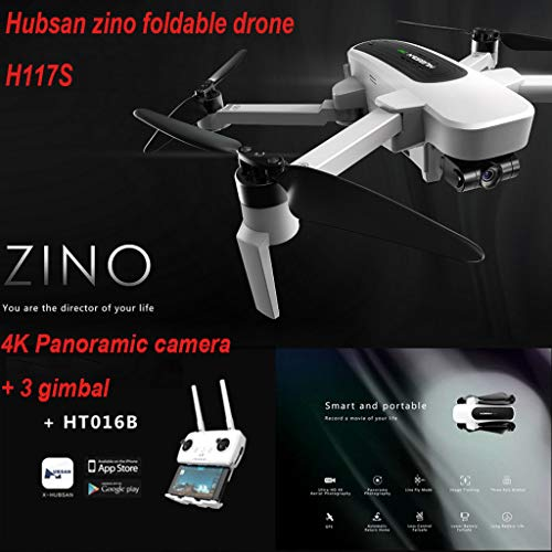 Dearprias Zino H117S Quadcopter Drone 4K Camera GPS WiFi FPV Waypoint 3 Axis Gimbal (White) by Dearprias (Image #2)
