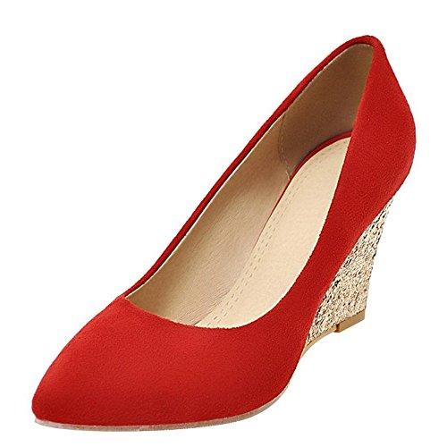YE YE Rojo Mujer YE Rojo Cerrado Rojo YE Mujer Cerrado Mujer Cerrado UE78Uwcq