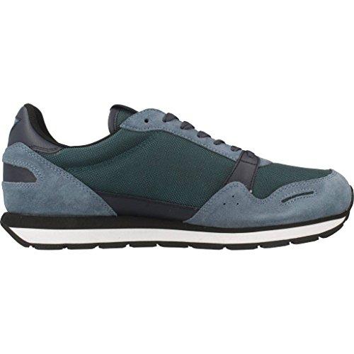 Armani Blue Sneaker Runner Herren Emporio Blau Pqw1BYqd