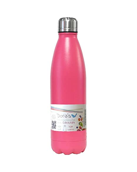 Dora ́s - Termo de acero inoxidable (500 ml) rosa: Amazon.es ...