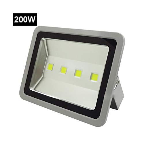 (LED Flood Light Outdoor Work Light Waterproof Lightning Protection IP65 Stadium Engineering Lights Advertising Lights (Color : 200W, Size : White light))