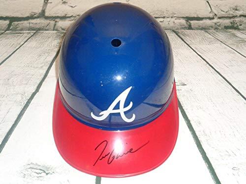 Tom Glavine Autographed Atlanta Braves Baseball Replica Batting Helmet Full Size - Autographed MLB Helmets