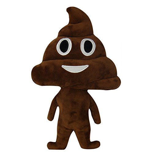 Emoji Poo Pillow Doll
