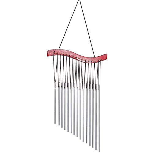 iHappy Emperor Harp Wind Chimes for House Decorative Garden Door Window | 16 Inches Height & 8 Inches Wide. ()