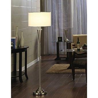 150 Watt Floor Lamp Finish: Brushed Nickel - Table Lamps - Amazon.com