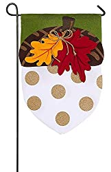 Add a touch of your personality and welcome guests warmly to your home and garden with this decorative flag. This Burlap Boutique flag is made of medium-weight, soft polyester burlap fabric that has the look and feel of real burlap. Artwork is heat t...