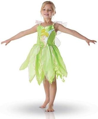 RUBIES Disney - Disfraz infantil Hada Campanilla - Talla 5-6 años ...