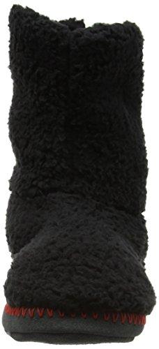 Animal Bollo, Zapatillas Altas para Hombre Negro (Black)