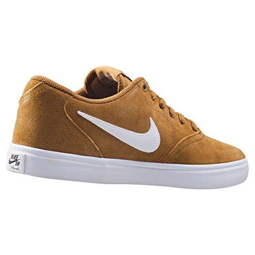 Nike Herren SB Check Solar Low-Top Golden/beige