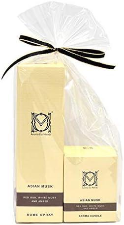 ホームスプレー&キャンドル アジアンムスク セット Aroma Du Monde/ADM Home Spray & Candle Asian Musk Set 81152