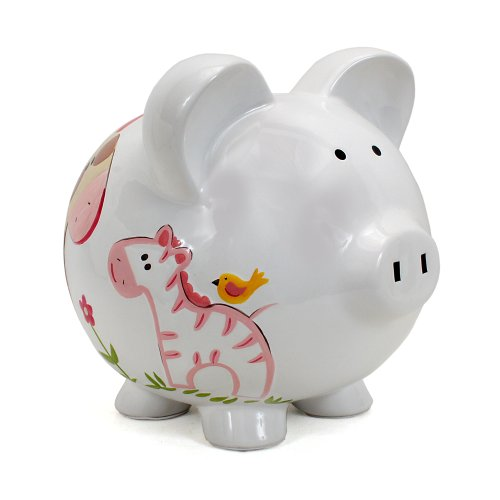 Child to Cherish Piggy Bank, Jungle Jill, Large
