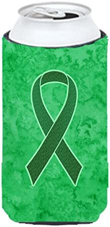 Amazon Com Caroline S Treasures An1220tbc Kelly Green Ribbon For Kidney Cancer Awareness Tall Boy Beverage Insulator Hugger Tall Boy Multicolor Kitchen Dining