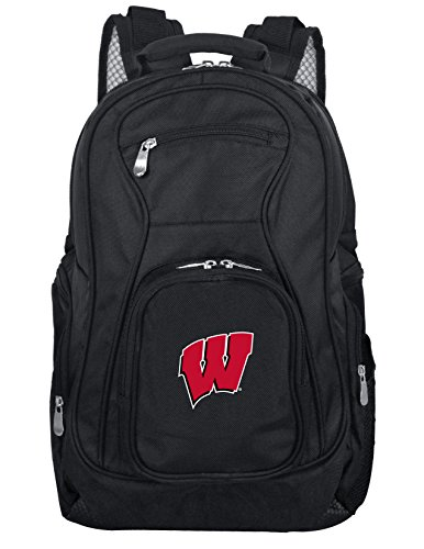 Denco NCAA Wisconsin Badgers Voyager Laptop Backpack, 19-inches from Denco