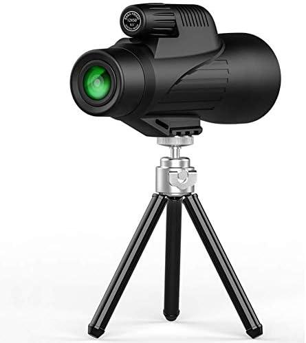 単眼望遠鏡、ハイパワー単眼スコープ、携帯電話用クリップ付きの防水単眼鏡、バードウォッチング用携帯電話用三脚