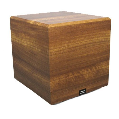 Theater Solutions SUB15DM Down Firing Powered Subwoofer (Mahogany)
