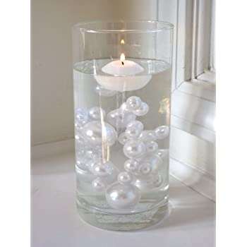 Amazon 2 Packs Discount Jumbo Assorted Sizes All White Pearls