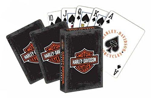 Harley-Davidson Rustic Bar & Shield Logo Standard Size Playing Cards Deck 637