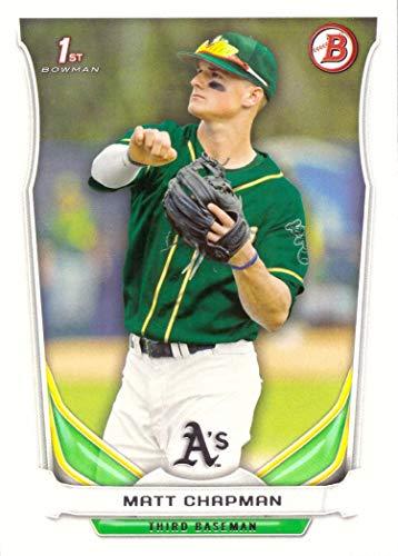 2014 Bowman Draft Picks & Prospects Baseball #DP21 Matt Chapman Pre-Rookie Card - 1st Bowman Card