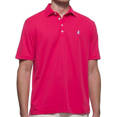 使役相互接続見積りJohnnie Oフェアウェイウッドprep-formanceポロメンズゴルフシャツ – Paradise X Large