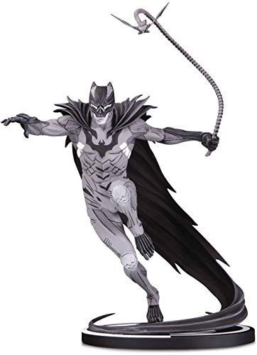 DC Collectibles Batman Black & White: Batman by Kenneth Rocafort Statue, Multicolor