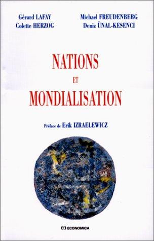 Les Nations face à la mondialisation par Gérard Lafay