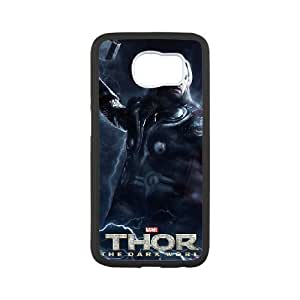 Thor The Dark World Image On The Samsung Galaxy s6 Black Cell Phone Case AMW899000