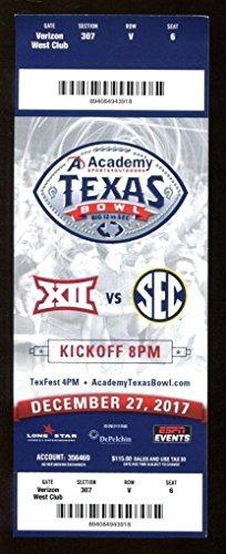 2017 Texas Bowl Full Ticket Texas Longhorns v Missouri Mizzou 12/27 41931
