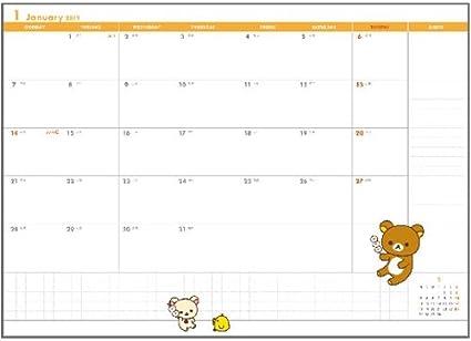 Rilakkuma Schedule Planner Strawberry Party