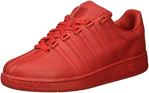 - K-Swiss Men's Classic VN Sneaker, Ribbon red, 8.5 M US