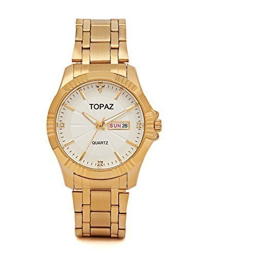 mens white dial luxury watches - 5