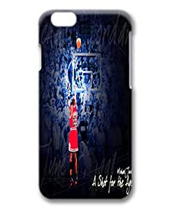 customizeed michael jordan a shot for ages for iphone 6 plus 3D for sports fan by hebbyshop