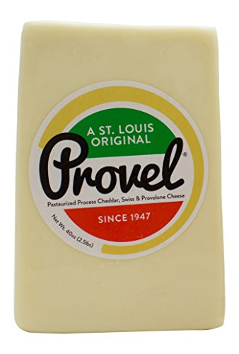 Imo's Provel Cheese Snack Sticks and 2.5 lb. Half Loaf Provel Combo Pack (2 Pack)