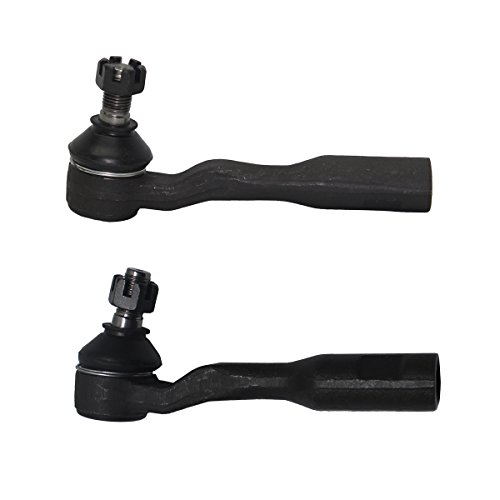 - Detroit Axle - Both (2) New Front Driver and Passenger Side Outer Tie Rod Ends