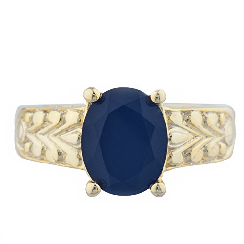 nyx Oval Design Ring 14Kt Yellow Gold Rose Gold Silver ()