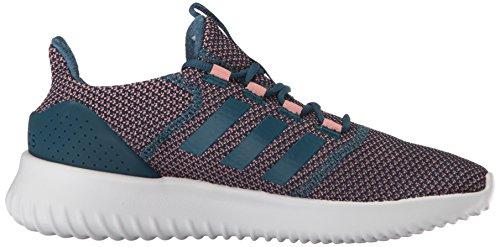 Adidas Neo Donna Cloudfoam Ultimate W Sneaker Traccia Rosa / Benzina Notte / Grigio Due