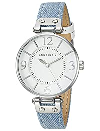 Anne Klein Women's Quartz Blue Casual Watch (Model: 10/9169WTLD)