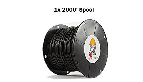 16AWG / Gauge Professional Grade eXtreme Dog Fence Solid Core Dog Fence Wire (2000' - 1x 2000' Spool) by Extreme Dog Fence