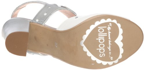 Lollipops Mystere Leather High Sandal, Damen Sandalen Grau (Grey)
