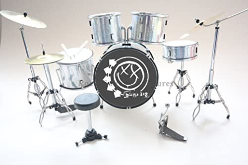 rgm386 Travis Barker Blink 182 kit de tambor en miniatura: Amazon.es: Hogar