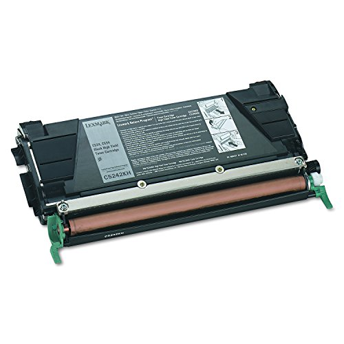 C534 High Extra Yield - Lexmark C524, C534  C5242KH High Yield Toner Cartridge (Black)