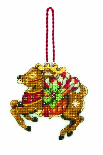 Dimensions Counted Cross Stitch Ornament, Reindeer -  70-08916