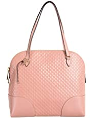 Gucci 100% Leather Pink Women's Shoulder Bag