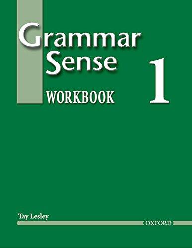 Grammar Sense 1: Workbook