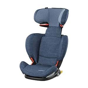 Bébé Confort RodiFix AirProtect silla de auto para niño con ISOFIX, reclinable, segura y ligera, desde los 3,5 hasta los 12 años, 15-36 kg,azul (nomad blue)