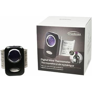 Amazon Com Trudeau Digital Wine Thermometer Wine