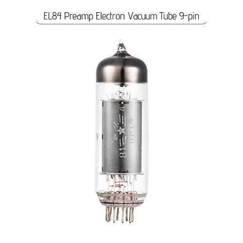 Kalaok EL84 Preamp Electron Vacuum Tube 9-pin for 6P14 EL84/6BQ5 Audio Amplifier Tube Replacement ()