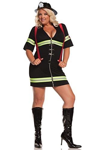 Plus Size Halloween Costumes 3x 4x (MS. BLAZIN' HOT 3X-4X)