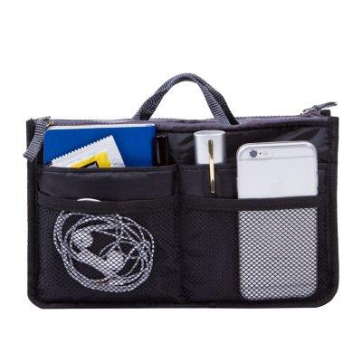 ZoCr Portable Multi-function Handbag Pouch Bag in Bag - Contents Beauty Organizer Bag
