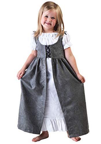 Toddler Girls Renaissance Faire Costume Toddler White ()